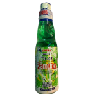 Kimura Ramune Carbonated Soft Drink Melon Flavour 200ml