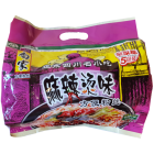 Instant Sweet Potato Thead Hot Spicy Flavor Family Package (5 pcs) 525g