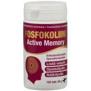 Hankintatukku Fosfokoliini Active Memory (lecithin preparate from soya) 150 tabl.