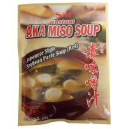 Instant Japanese Style Soybean Paste Red Miso Soup (3 pcs) 30g